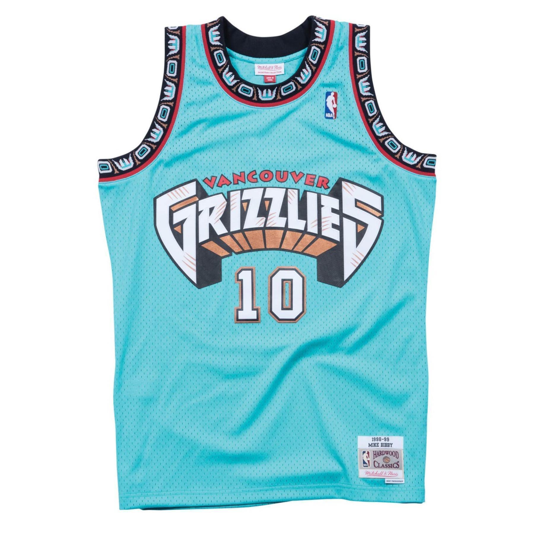 Camiseta Vancouver Grizzlies de la NBA