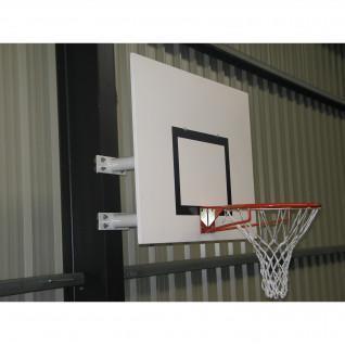 Canasta de baloncesto de pared con media luna de altura fija Sporti France