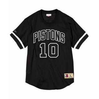 Camiseta Detroit Pistons black & white Dennis Rodman