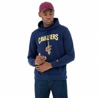 Sweat   capuche New Era  avec logo de l'équipe Cleveland Cavaliers