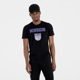 Camiseta con logotipo Sacramento Kings