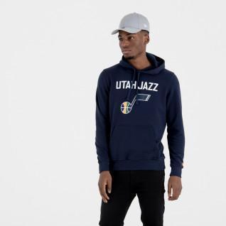 Sudadera con capucha New Era avec logo de l'équipe Uath Jazz
