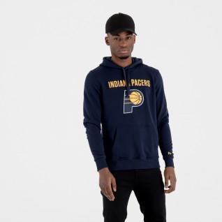 Sweat   capuche New Era  avec logo de l'équipe Indiana Pacers