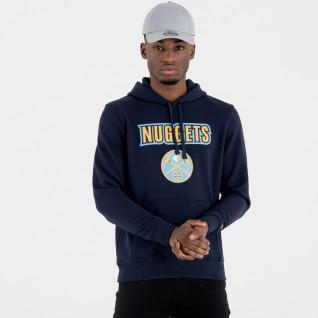 Sweat   capuche New Era  avec logo de l'équipe Denver Nuggets