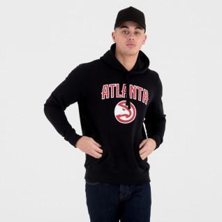 Sweat   capuche New Era  avec logo de l'équipe Atlanta Hawks