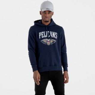 Sweat   capuche New Era  avec logo de l'équipe New Orleans Pelicans