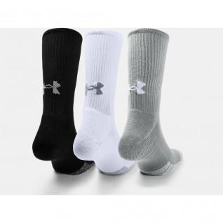 Pack de 3 pares de calcetines altos Under Armour HeatGear® Crew