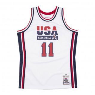 Camiseta auténtica del equipo USA Karl Malone 1992
