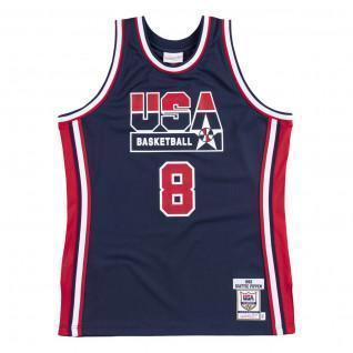 Camiseta auténtica del equipo USA nba Scottie Pippen