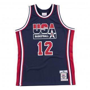 Camiseta auténtica del equipo USA nba John Stockton