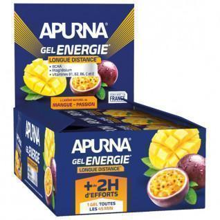 Paquete de 24 geles Apurna Energie Mangue Passion- 35g