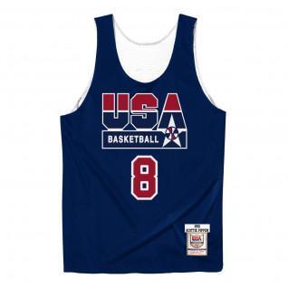 Camiseta auténtica del equipo USA reversible practice Scottie Pippen