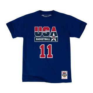 Camiseta USA name & number Karl Malone