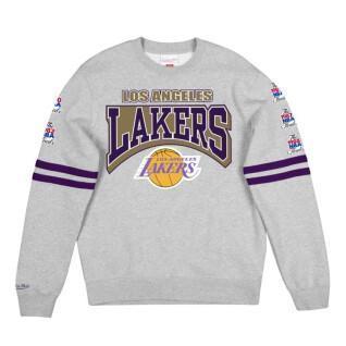 Camisa dulce Los Angeles Lakers Fleece Crew