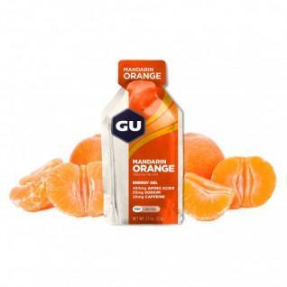 Paquete de 24 geles Gu Energy mandarine/orange