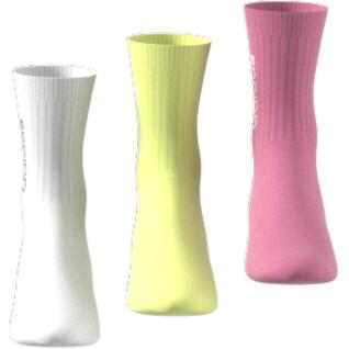 Juego de 3 calcetines adidas Half-Cushioned Vertical