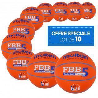 Paquete de 10 globos de ocio Molten FBB Technical Training