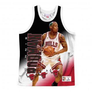 Jersey Chicago Bulls behind the back Dennis Rodman