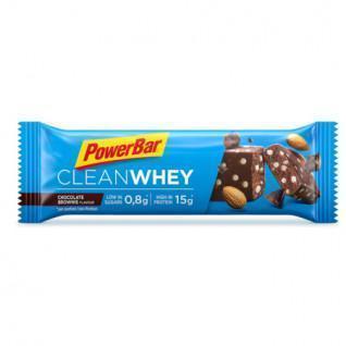Paquete de 18 barras PowerBar Clean Whey - Chocolate Brownie
