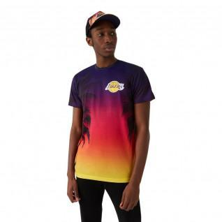 Camiseta New Era NBA Los Angeles Lakers summer city