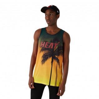 Camiseta de tirantes New Era NBA Miami Heat Aop summer city