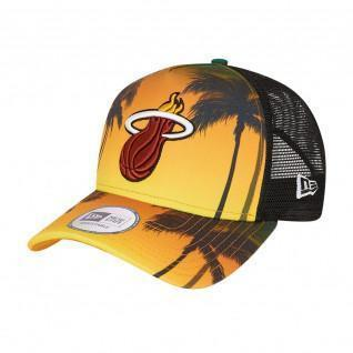 Cap New Era NBA Miami Heat trucker summer city