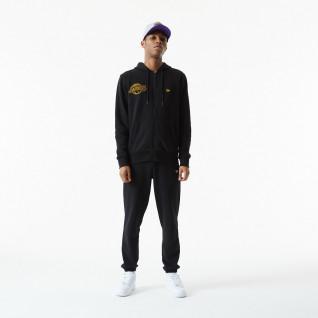 Sudadera con capucha New Era NBA Chain Stitch Los Angeles Laker